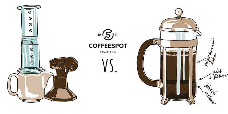 Aeropress vs. frenchpress
